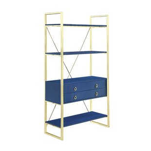 Clarksburg Etagere Bookcase by Everly Quinn New