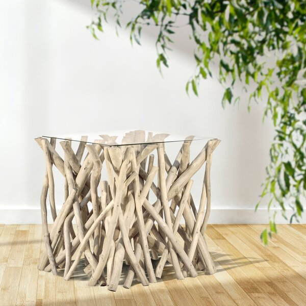 Natural Branch End Table by Ibolili Ibolili
