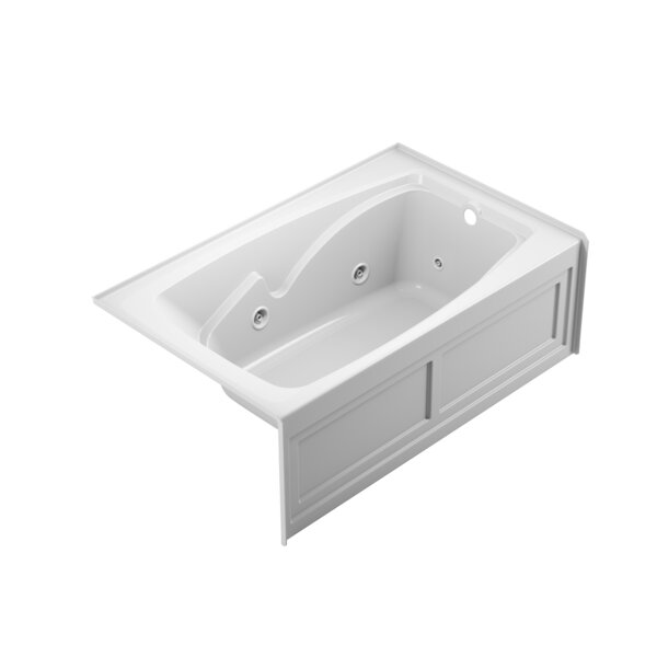 Cetra 2-Panel Right-Hand 60 x 36 Skirted Whirlpool Bathtub by Jacuzzi®