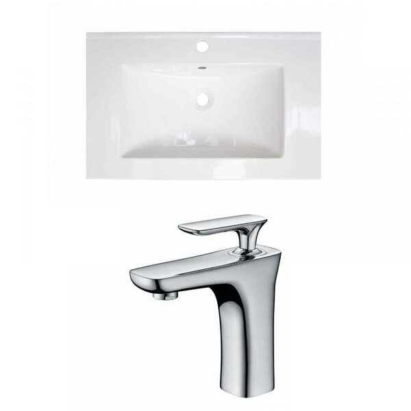 Ceramic 25 Single Bathroom Vanity Top by Royal Purple Bath Kitchen