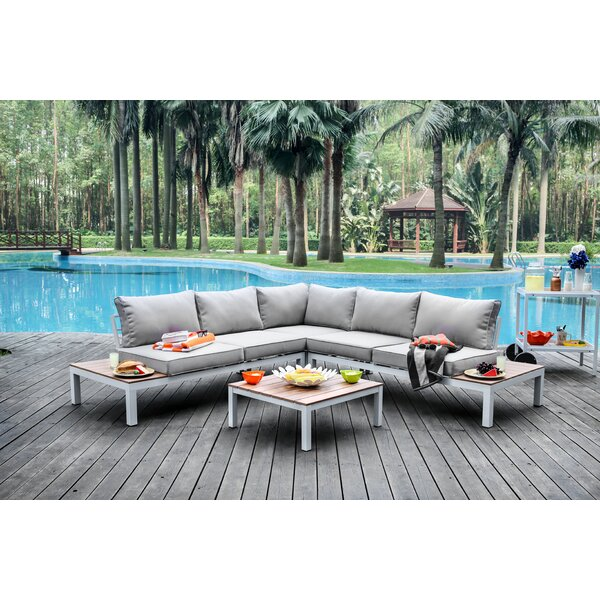 Nailwell 2 Piece Sectional Seating Group with Cushions by Brayden Studio