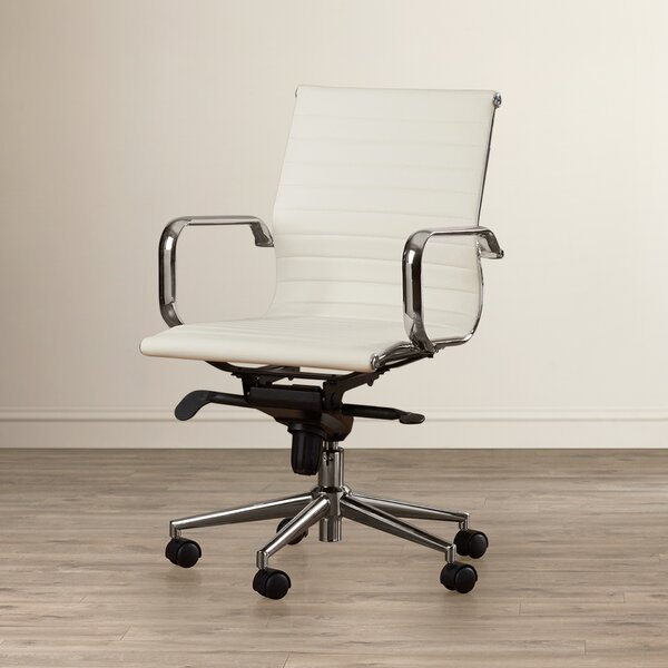 Annabell Mid-Back Desk Chair by Wade Logan