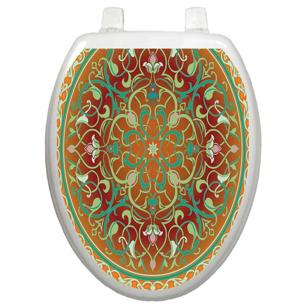 Classic Medallion Toilet Seat Decal by Toilet Tattoos