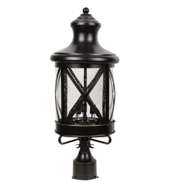 Lidia 3-Light Lantern Head by Gracie Oaks