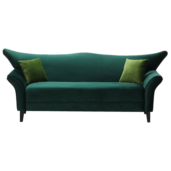 Modern Collection Sharpsburg Sofa by Everly Quinn by Everly Quinn