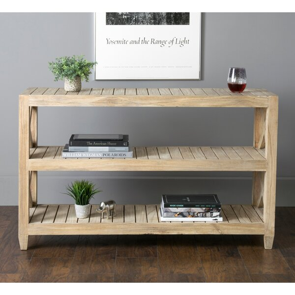 Check Price Haralson Rustic Console Table
