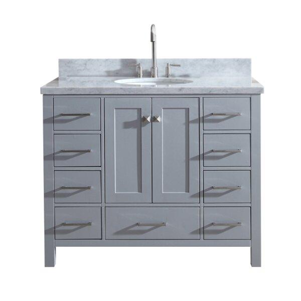 Utley Modern 43 Single Bathroom Vanity Set by Ando