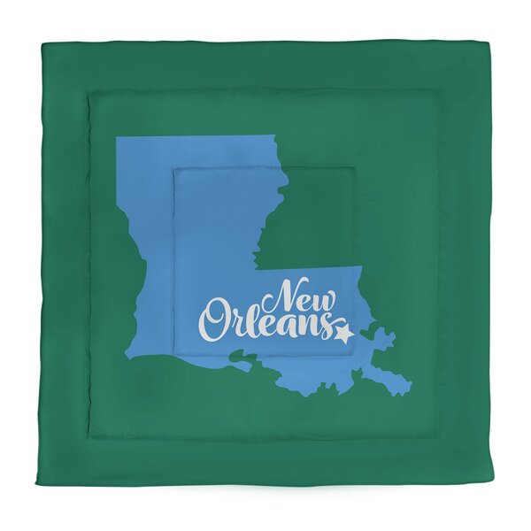 Louisiana Single Reversible Comforter