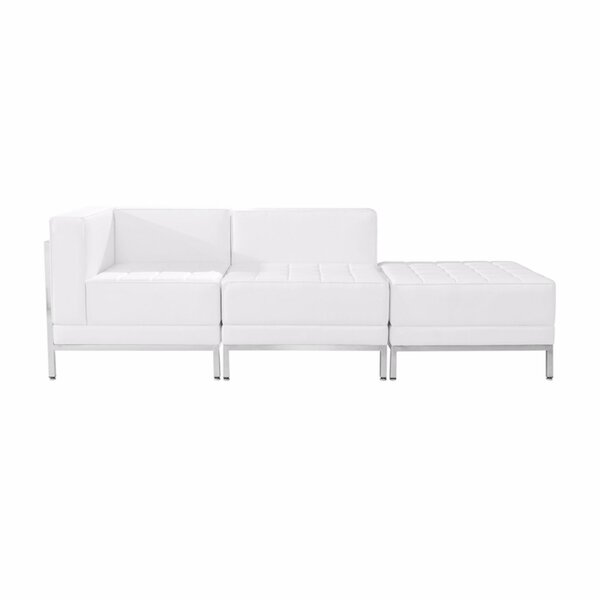 Nadia Configuration Modular Sectional with Ottoman by Orren Ellis