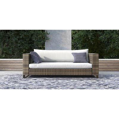 Outdoor Wicker Loveseat Cushions 342