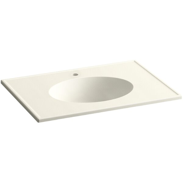 Ceramic Impressions 31 Single Bathroom Vanity Top by Kohler