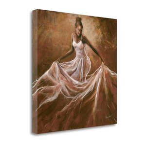 'Ethereal Grace' Print on Wrapped Canvas by Tangletown Fine Art