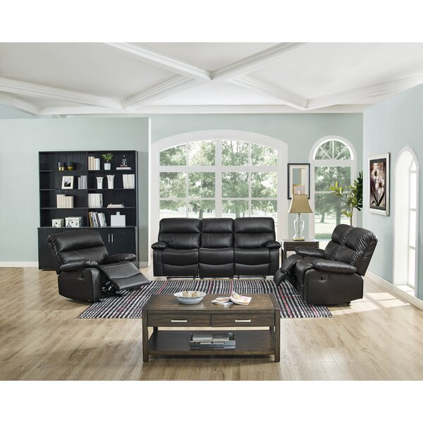 Occoquan 3 Piece Reclining Living Room Set by Ebern Designs