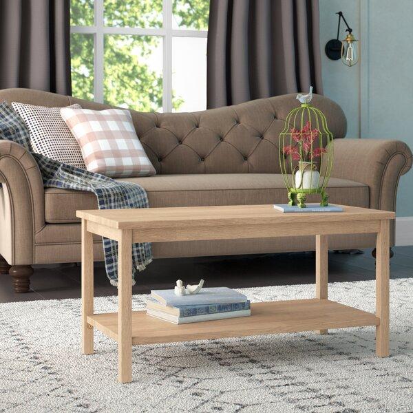Lynn Solid Wood Coffee Table By Mistana