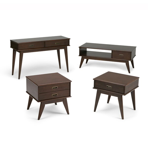 Halvorson 4 Piece Coffee Table Set By George Oliver