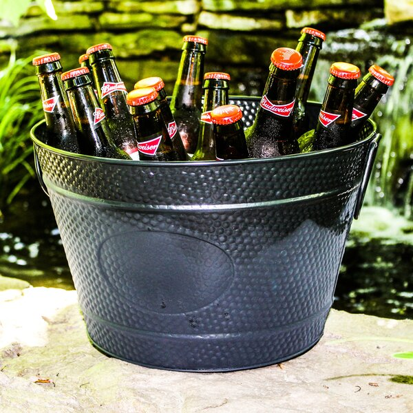 Hillcrest Pebbled Beverage Bucket by BREKX