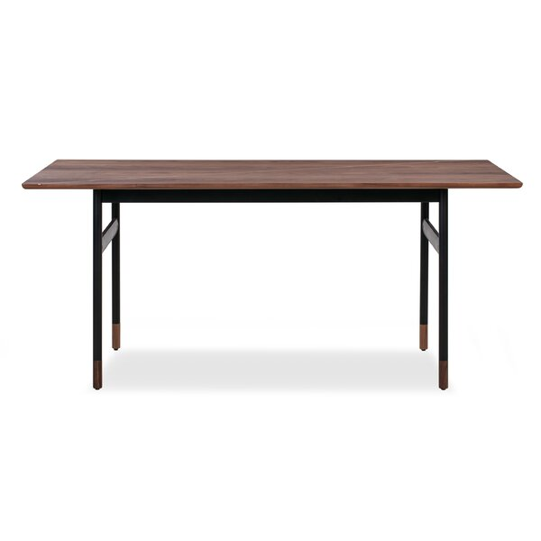 Bergelmir Solid Wood Dining Table by Ebern Designs Ebern Designs
