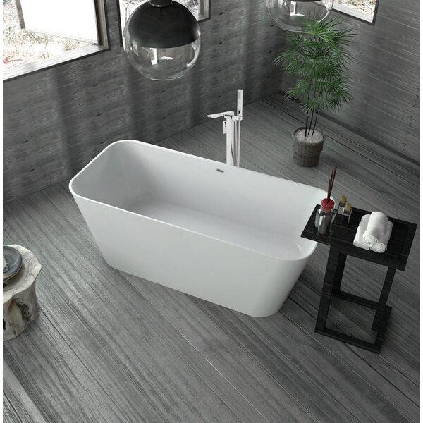 59 x 26 Freestanding Soaking Bathtub by Streamline Bath