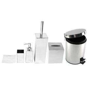Nemesia 6-Piece Bathroom Accessory Set