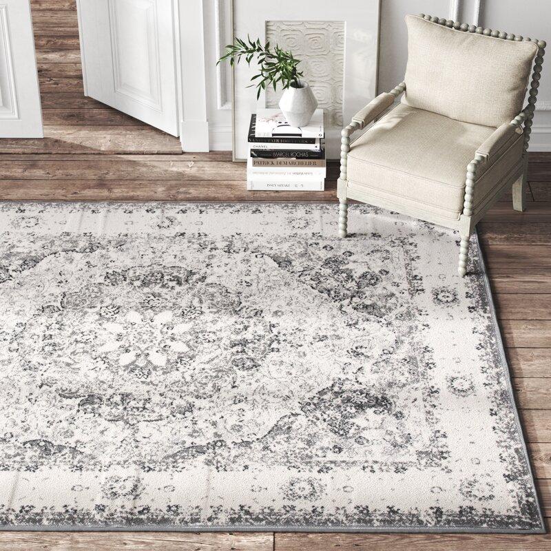 Kelly Clarkson Home Khalil Oriental Gray Area Rug Reviews Wayfair