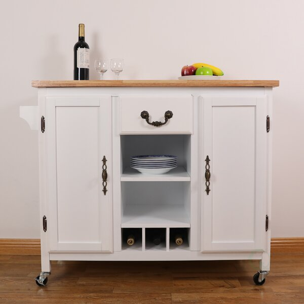 Avelaine Kitchen Cart by Darby Home Co