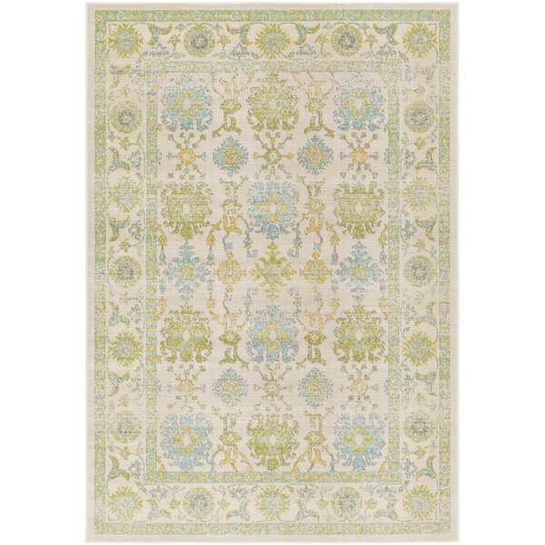 Velay Green/Blue Area Rug by Lark Manor