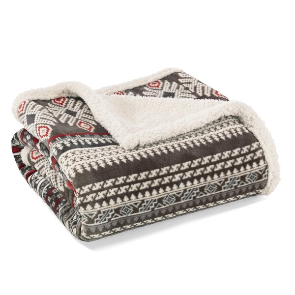 Sycamore Ultra Plush Throw by Eddie Bauer