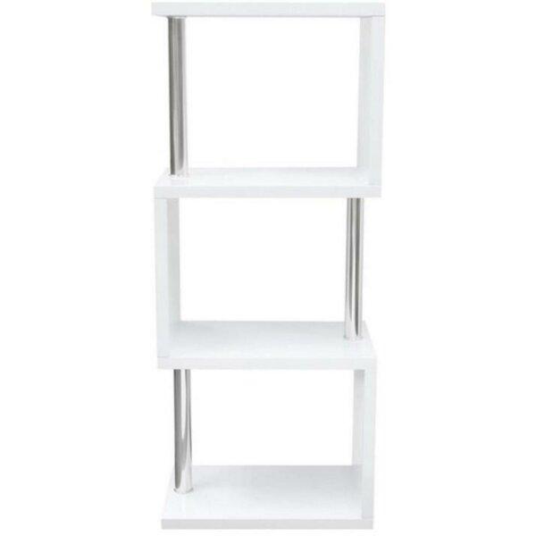Nathalia Geometric Bookcase By Brayden Studio
