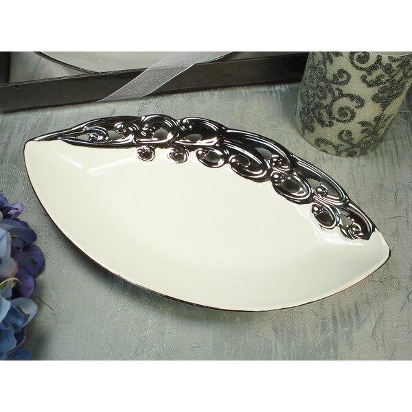 Tear Drop Platter by D'Lusso Designs