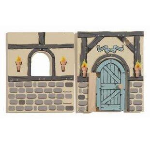 Bargain Edix the Medieval Village House Walls ByLe Toy Van