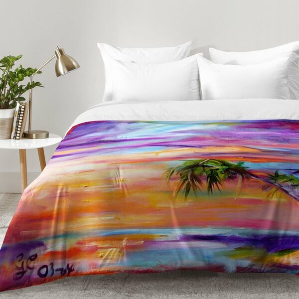 Florida Palms Beach Comforter Set