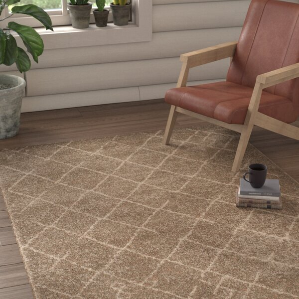 Bennett Brown Area Rug by Union Rustic