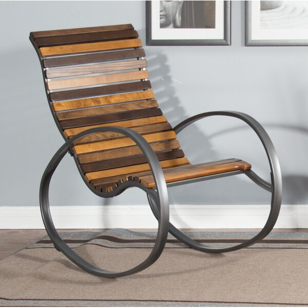 Oona Rocking Chair by Millwood Pines