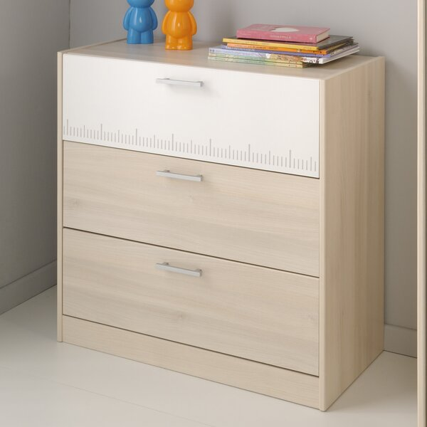 Demeter 3 Drawer Dresser by Zoomie Kids