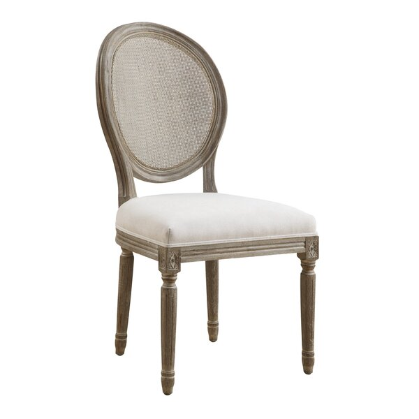 Duffield Upholstered Dining Chair (Set of 2) by Three Posts