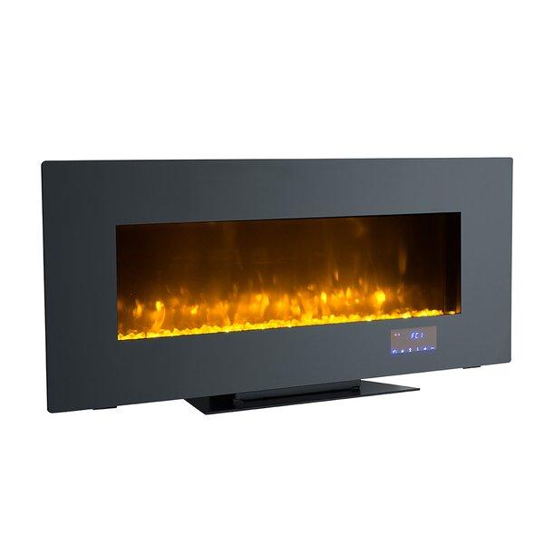Tekamah Wall Mounted Electric Fireplace by Orren Ellis Orren Ellis
