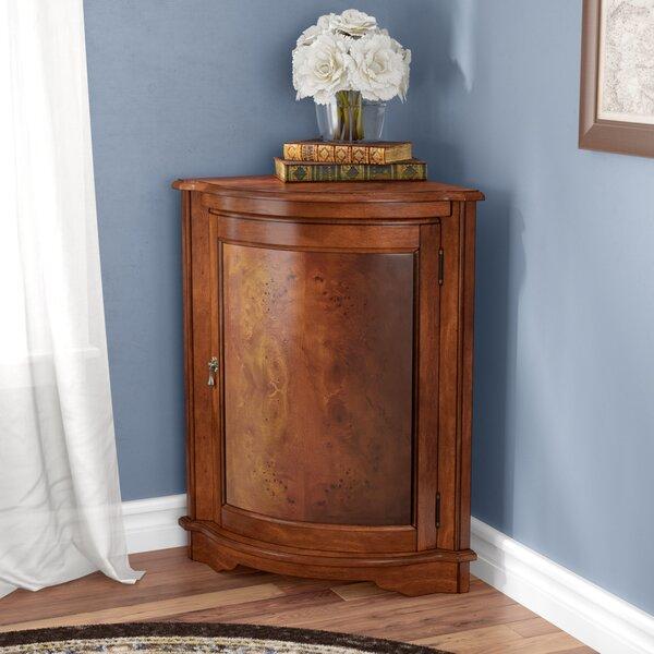 Vanleer 1 Door Corner Accent Cabinet by Darby Home Co Darby Home Co