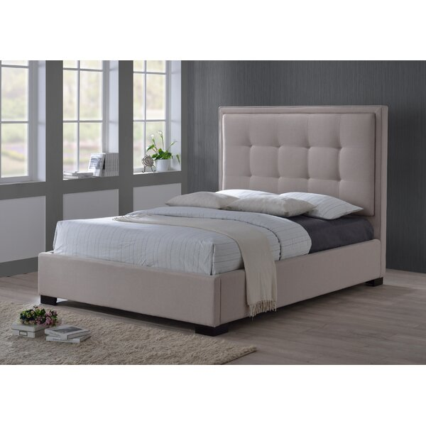 Montecito Upholstered Standard Bed by LuXeo