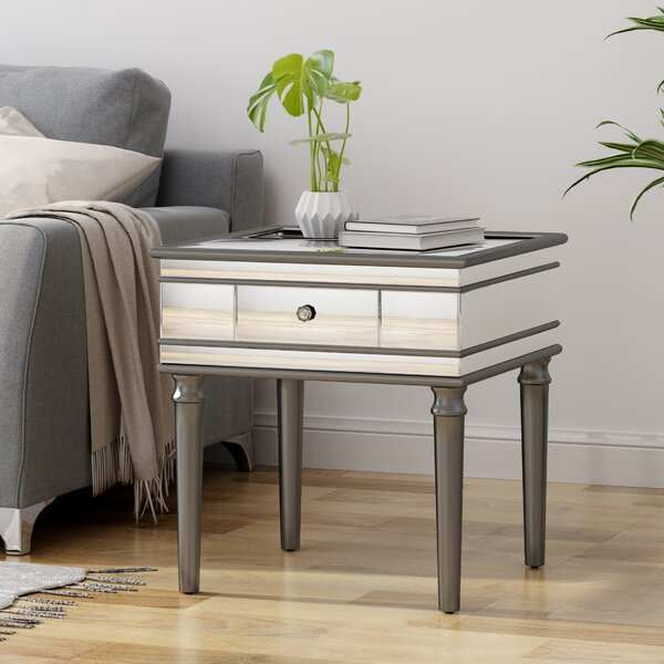 Callaghan End Table With Storage By House Of Hampton®