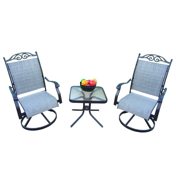 Basile 3 Piece Dining Set by August Grove
