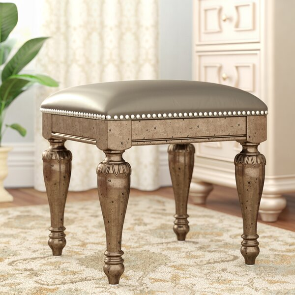 Coalson Vanity Stool by Astoria Grand
