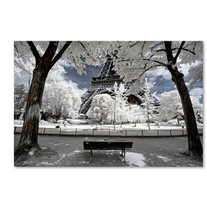 Another Look at Paris VI Photographic Print on Wrapped Canvas by Latitude Run