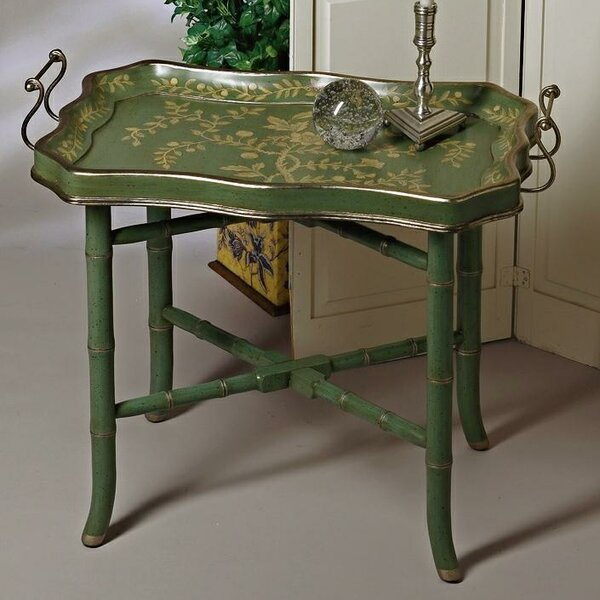 Wood Tray Table By DessauHome