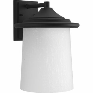 Price comparison Crestside 1-Light Outdoor Sconce By Bloomsbury Market