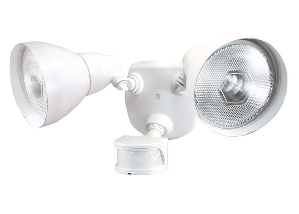 Metal Motion-Sensing 3-Light Security Light by Heath-Zenith