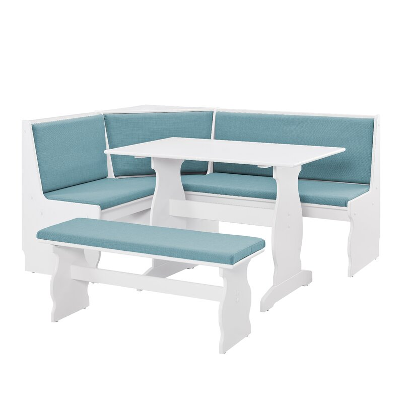 Olivia Nook Traditional 3 Piece Dining Set $424.99