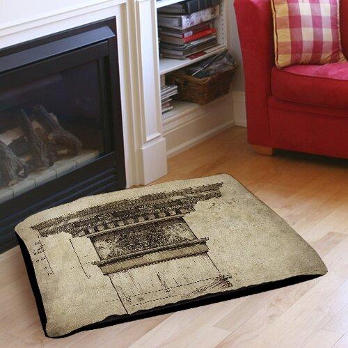 Column I Indoor/Outdoor Pet Bed by Manual Woodworkers & Weavers