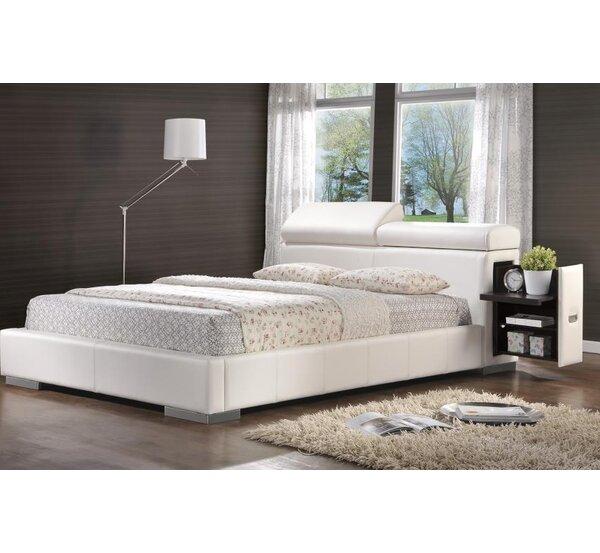 Berger Upholstered Storage Platform Bed by Wade Logan