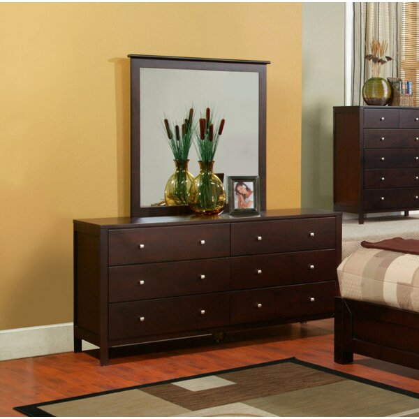 Framlingham 6 Drawer Double Dresser by Three Posts
