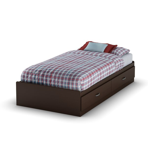 Logik Twin Mates & Captains Bed with Drawers by South Shore